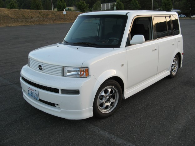 I converted this xB to full electric drive.