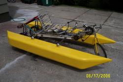 side view of MKIII amphibike