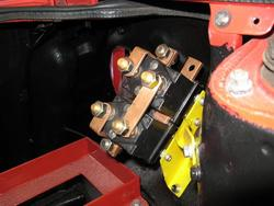 Albright Reversing Contactor Mounted