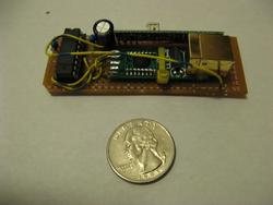 An RF to RS232-over-USB converter